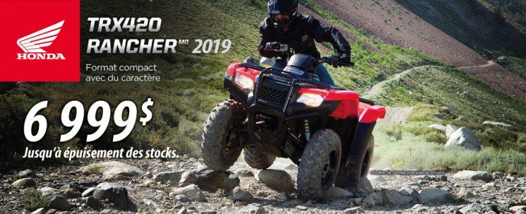 Promo TRX 420 2019