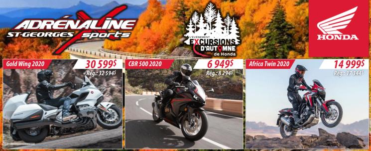 Honda Excursions d'automne