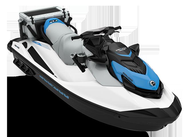 Can-Am FISHPRO SCOUT 130 blanc/bleu-océan 2022