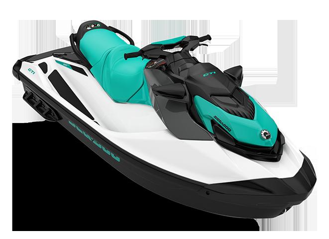 Can-Am GTI 90 blanc/bleu-corail 2022
