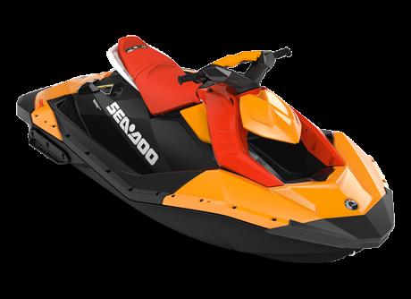 Sea-Doo SPARK 2 up orange-crush/rouge-lave 2022