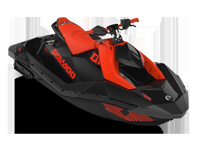 Sea-Doo SPARK TRIXX 2 up rouge-lave/noir-profond 2022