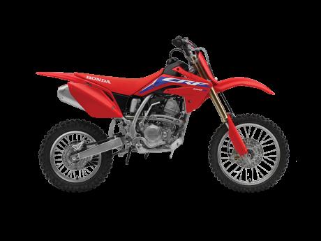 Honda CRF150R Rouge extrême 2022