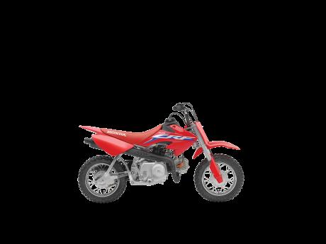 Honda CRF50F Rouge extrême 2022